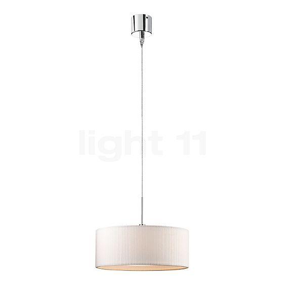 Bruck Cantara Down 300 PNT Pendant Light Chrome glossy, incl. E-Point Lamp Canopy