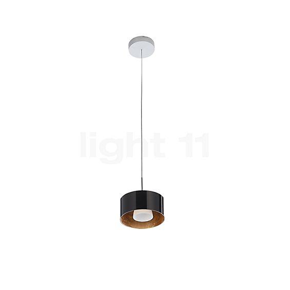Bruck Cantara Glas 190 Down Pendelleuchte LED, Chrom matt in der Rundumansicht zur genaueren Betrachtung