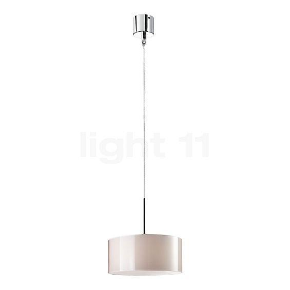Bruck Cantara Glass Down LED 190 PNT 350mA + E-Point 55 C, polished chrome