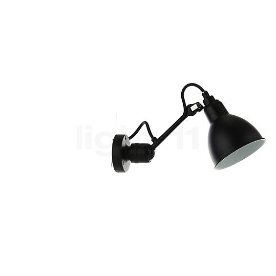 DCW Lampe Gras No 304 Wandlamp zwart in 3D aanzicht voor meer details