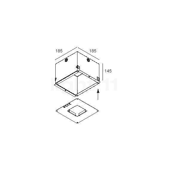 delta light concrete box 111 kaufen bei. Black Bedroom Furniture Sets. Home Design Ideas
