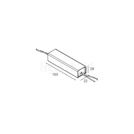 delta light e transformator de 100 va ip67. Black Bedroom Furniture Sets. Home Design Ideas