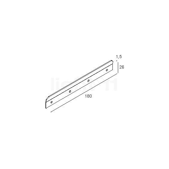 Juno Monoline Track Lighting: Wall Fixation At Light11.eu