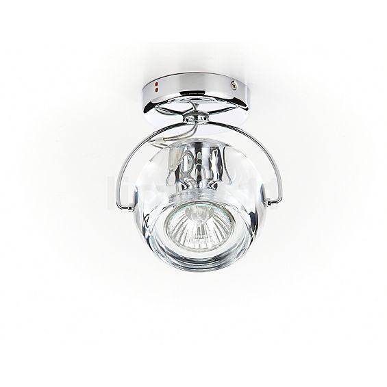 Fabbian Beluga Colour Lampada da parete o soffitto 1 fuoco - visualizzabile a 360° per una visione più attenta e accurata