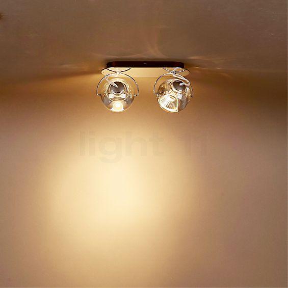 Fabbian Beluga Colour Plafond-/Wandlamp 2-lichts in 3D aanzicht voor meer details