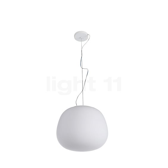 Fabbian Lumi Mochi pendant light in the 3D viewing mode for a closer look