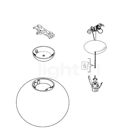 Flos Ersatzteile für Glo-Ball S2