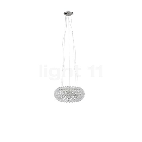 Foscarini Caboche Sospensione media LED in the 3D viewing mode for a closer look