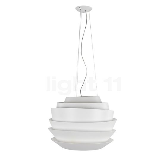 Foscarini Le Soleil Sospensione LED in the 3D viewing mode for a closer look