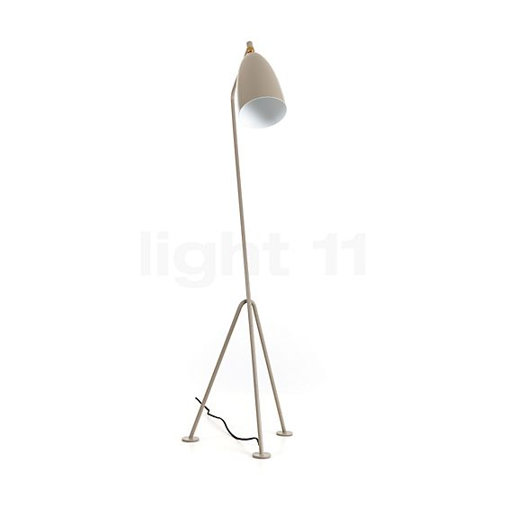 Gubi Grasshopper floor lamp in the 3D viewing mode for a closer look