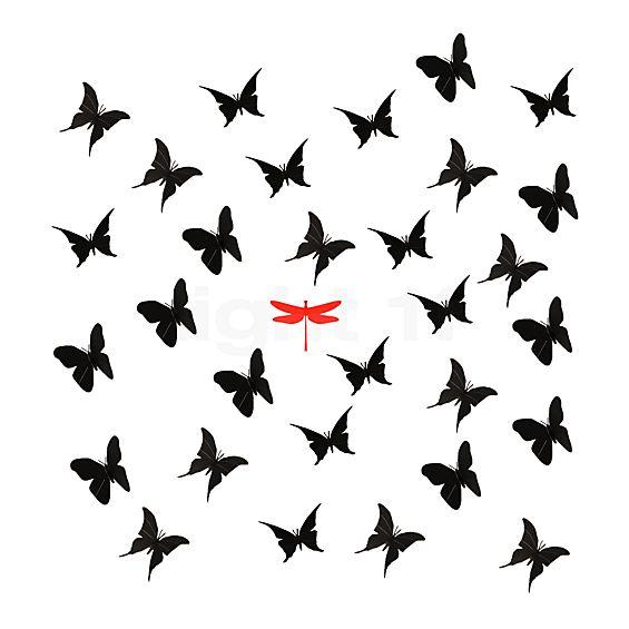Ingo Maurer Zwarte vlinders voor La Festa delle Farfalle