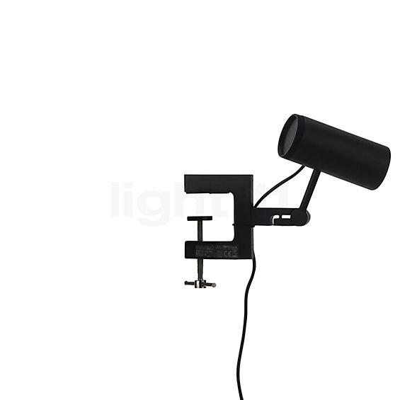 Marset Polo LED Wandleuchte mit Klemme in der Rundumansicht zur genaueren Betrachtung