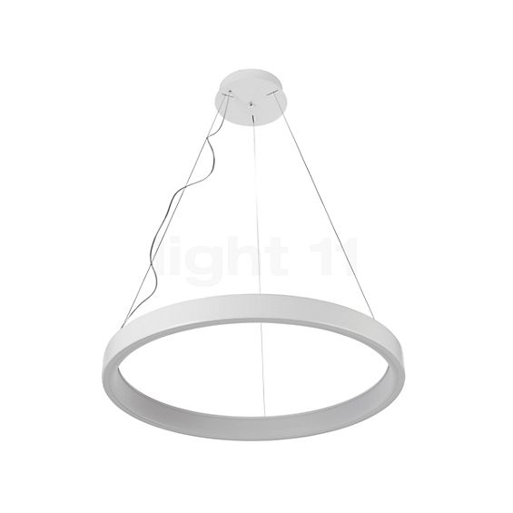 Martinelli Luce Lunaop Sospensione LED dimmable DALI in the 3D viewing mode for a closer look