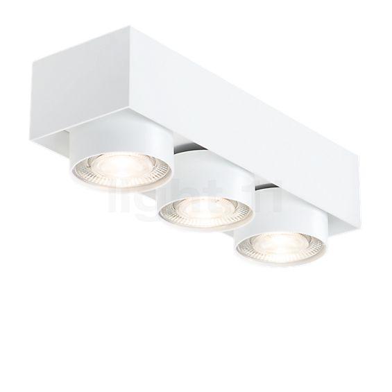 Mawa Wittenberg 4.0 Ceiling Light semi-flush with three spots LED