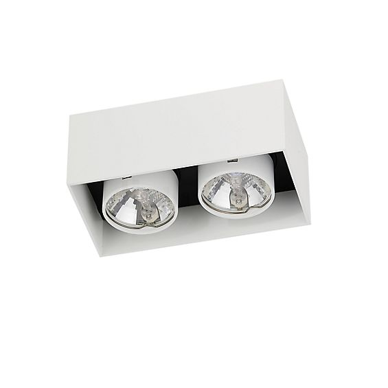 Mawa Wittenberg Ceiling Light flush 2 lamps in the 3D viewing mode for a closer look