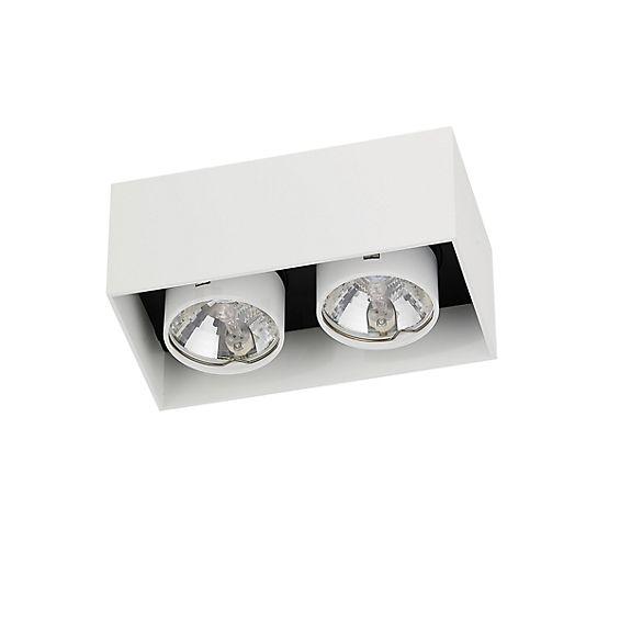 Mawa Wittenberg Lampada da soffitto con testa allineata 2 fuochi - visualizzabile a 360° per una visione più attenta e accurata