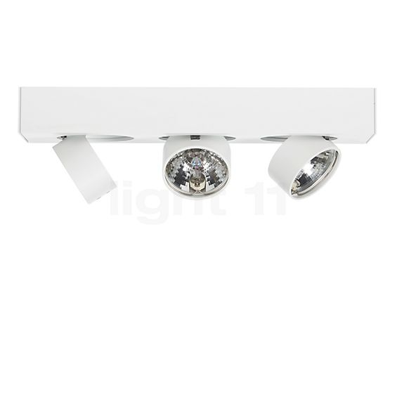 Mawa Wittenberg Lampada da soffitto/plafoniera 3 fuochi - visualizzabile a 360° per una visione più attenta e accurata