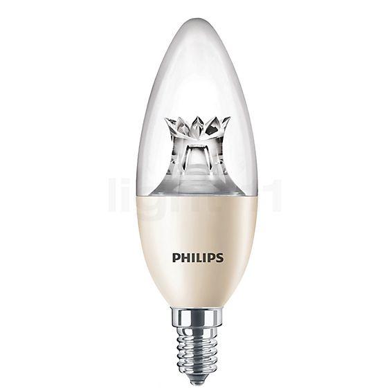 Philips C40-dim 8W/c 827, E14 WarmGlow