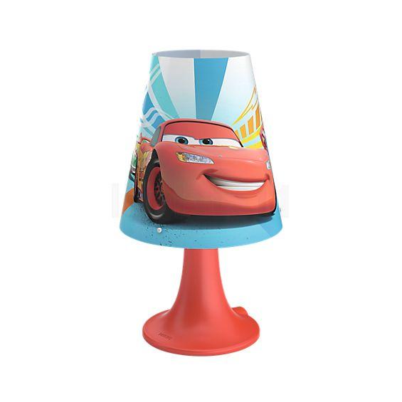 philips cars lampe de table led 717953216 lampe de chevet. Black Bedroom Furniture Sets. Home Design Ideas