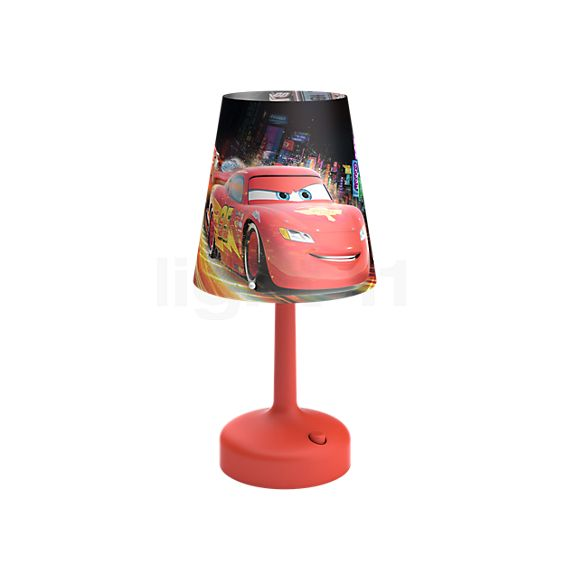 philips disney lampe de chevet cars led. Black Bedroom Furniture Sets. Home Design Ideas