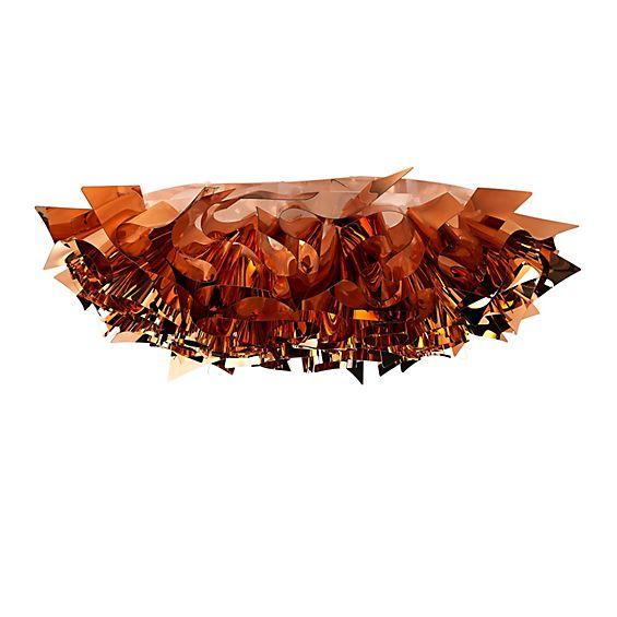 Slamp Veli Large, lámpara de techo edición especial metalizada - descubra cada detalle con la vista en 3D