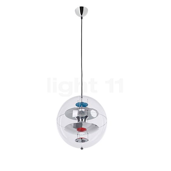Verpan VP Globe Pendant light in the 3D viewing mode for a closer look