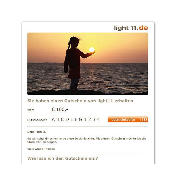 light11.de Gutschein als E-Mail