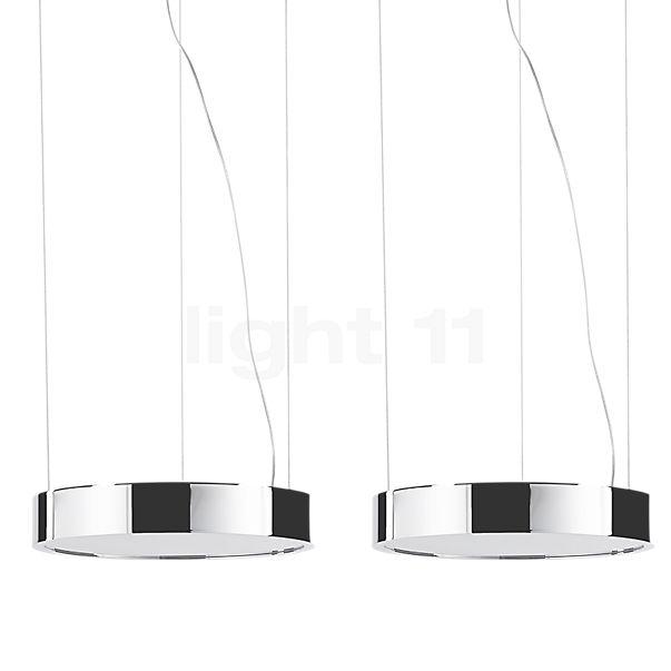 Absolut Lighting Aluring Pendant Light 2 lamps LED