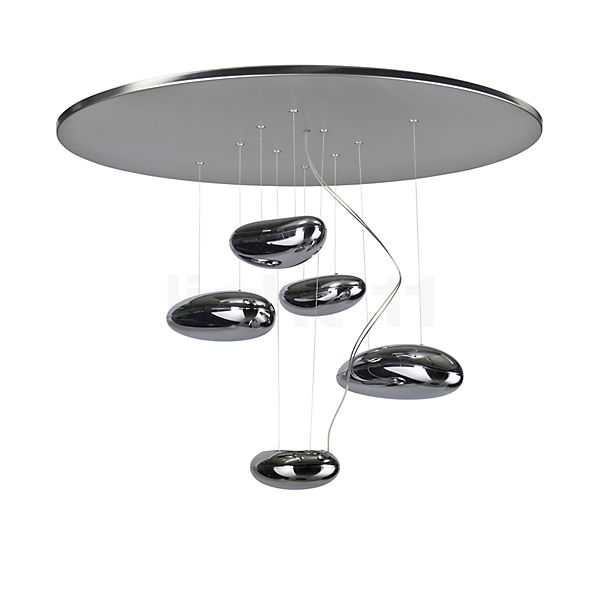 Artemide Mercury mini Soffitto LED in the 3D viewing mode for a closer look