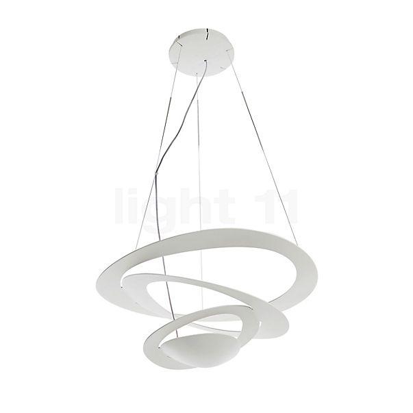 Artemide Pirce Mini Sospensione LED per dimmer a taglio fasico discendente - visualizzabile a 360° per una visione più attenta e accurata