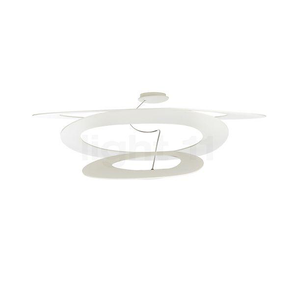 Artemide Pirce Soffitto LED für Phasenabschnittsdimmer in der Rundumansicht zur genaueren Betrachtung