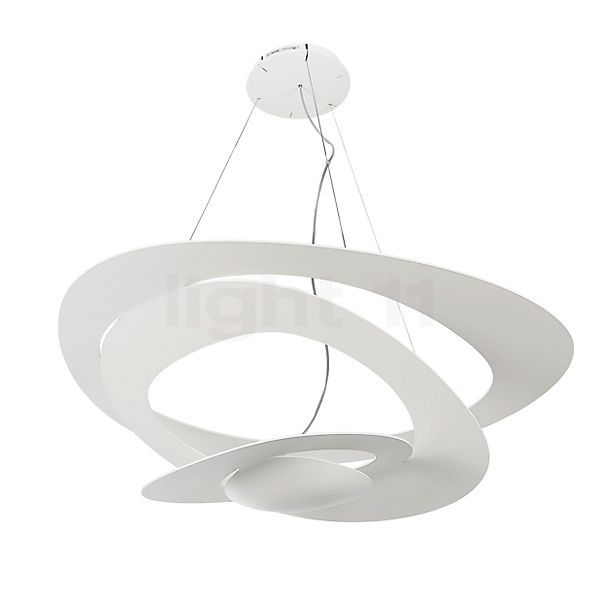 Artemide Pirce Sospensione LED in the 3D viewing mode for a closer look
