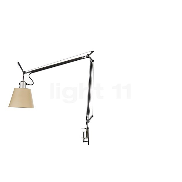 Artemide Tolomeo Basculante Tavolo with clamp in the 3D viewing mode for a closer look