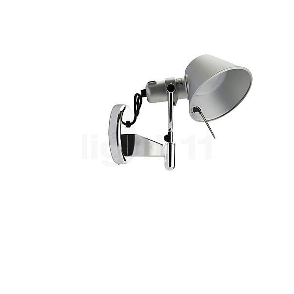 Artemide Tolomeo Faretto LED mit Schalter in der Rundumansicht zur genaueren Betrachtung