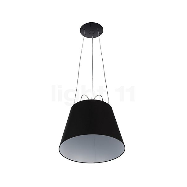 Artemide Tolomeo Mega Sospensione Black Edition in the 3D viewing mode for a closer look