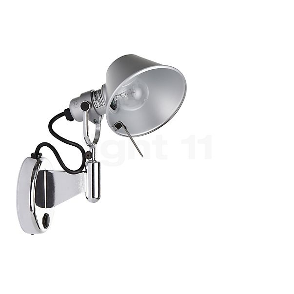 Artemide Tolomeo Micro Faretto LED sin interruptor - descubra cada detalle con la vista en 3D