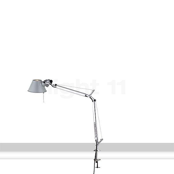 Artemide Tolomeo Micro LED con pinza para mesa
