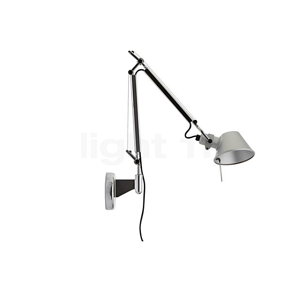 Artemide Tolomeo Micro Parete LED in the 3D viewing mode for a closer look