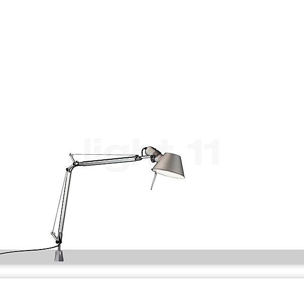 Artemide Tolomeo Micro with table pivot