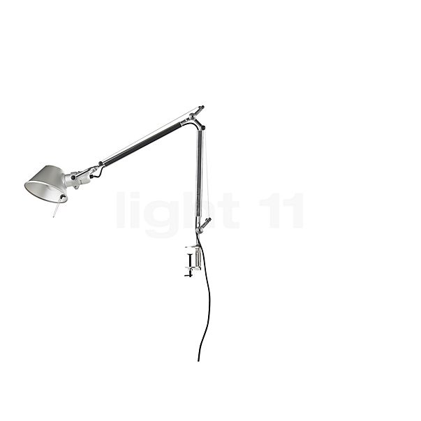 Artemide Tolomeo Mini with clamp in the 3D viewing mode for a closer look