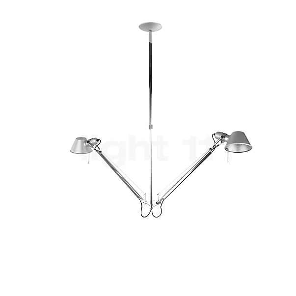 Artemide Tolomeo Sospensione in the 3D viewing mode for a closer look