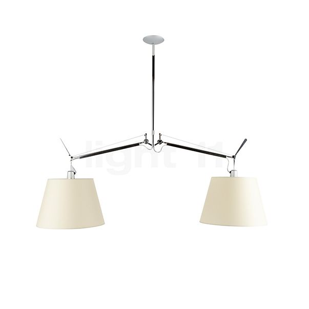 Artemide Tolomeo Sospensione Diffusore in the 3D viewing mode for a closer look