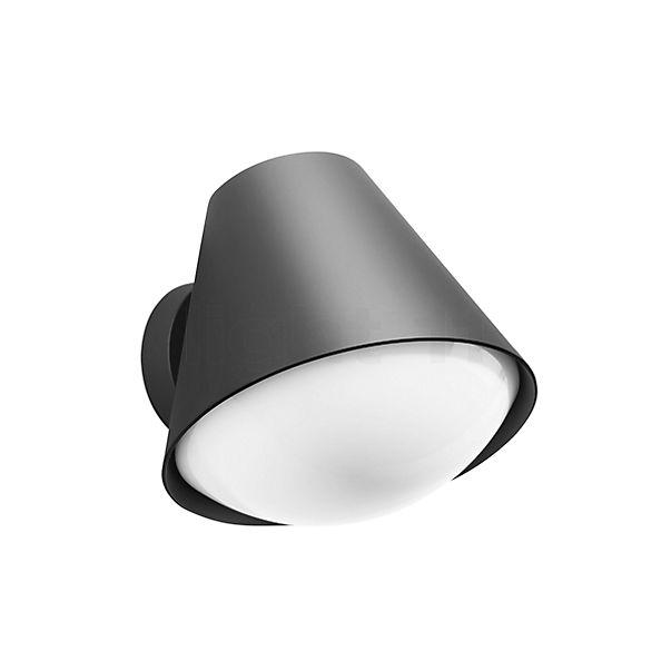 Bega Applique avec abat-jour conique, aluminium
