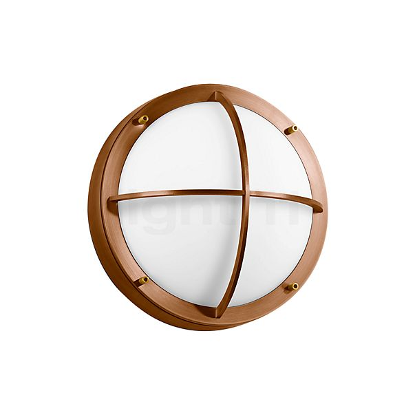 Bega Unshielded Ceiling/Wall Light with protective grid LED