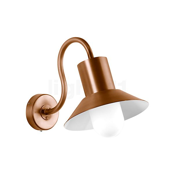 Bega Wall Light with Lampshade LED