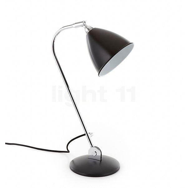 Bestlite BL2 Lampe de table chrome - vue panoramique pour une découverte précise