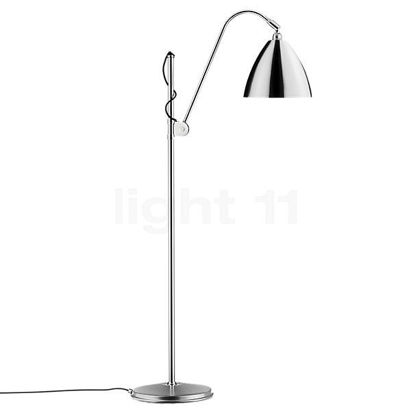 Bestlite BL3M Vloerlamp chroom