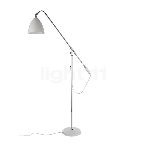 Bestlite BL4 Vloerlamp chroom in 3D aanzicht voor meer details