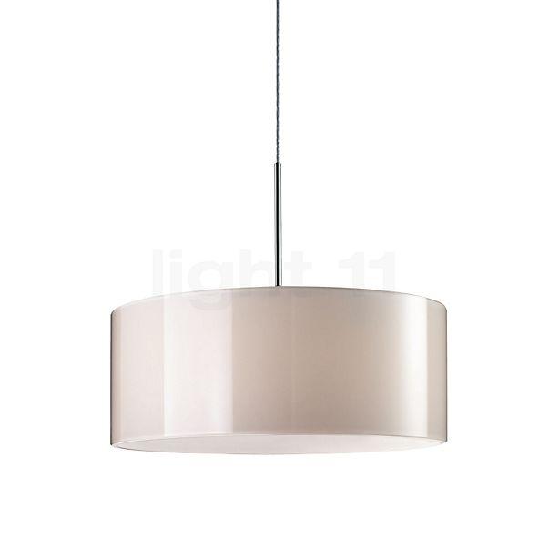 Bruck Cantara Glas 190 Down Pendelleuchte LED, Chrom glänzend