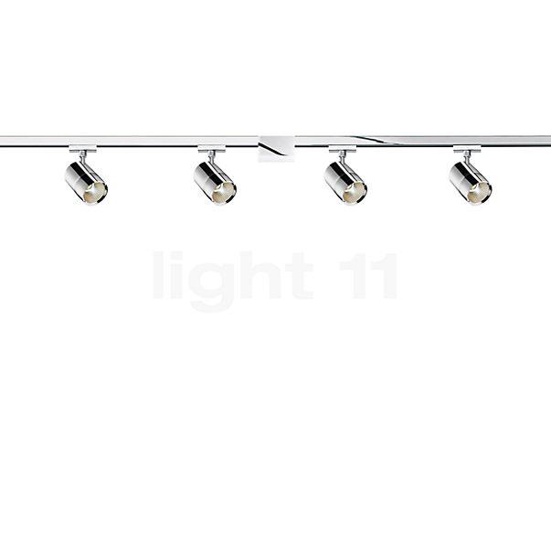 Bruck Duolare 2 m Schiene mit 4 x Act Strahler LED